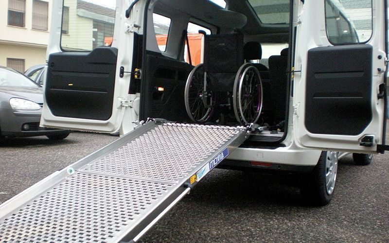automezzi volontariato disabili