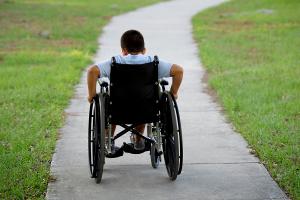 bambino disabile